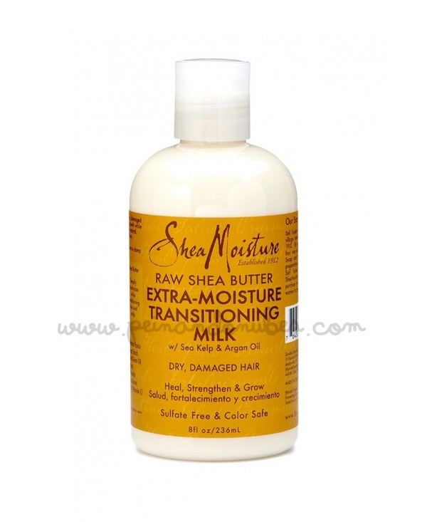 Shea Moisture - Raw Shea Butter Extra- Moisture Transitioning Milk - 236 ml.