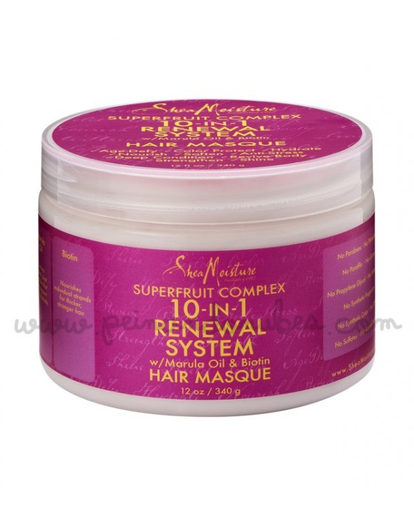 Shea Moisture - Superfruit Comple 10-in-1 Renewal System Hair Masque - 340 gr.