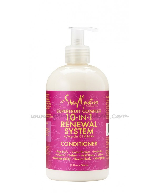 Shea Moisture - Superfruit Complex 10-in-1 Renewal System Conditioner - 384 ml.