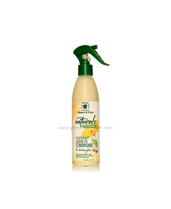 Jamaican Mango & Lime Pure Naturals - Coconut Leave-in Conditioner & Detangler - 237 ml.
