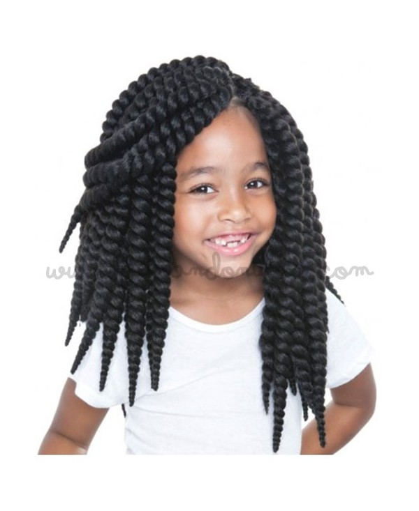 Pelo pretrenzado - Senegal Bantu Twists