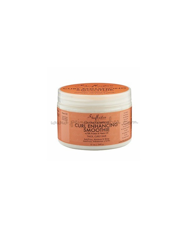 Shea Moisture - Coconut & hibiscus curl enhancing smoothie - 340 gr.