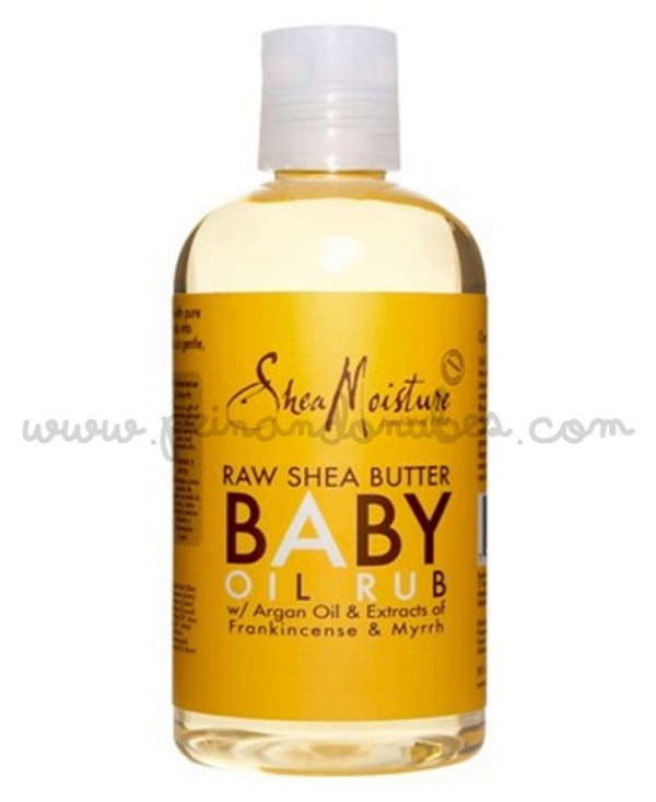 Shea Moisture - Raw Shea Baby Oil Rub - 236 ml.