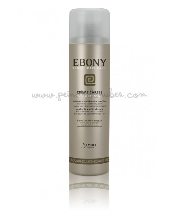 Slobel - Ebony - Crème Caress - 325 ml.
