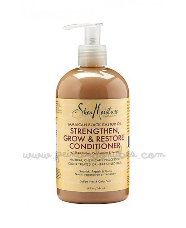 Shea Moisture - Jamaican Black Castor Oil Strengthen, Grow & Restore Conditioner - 384 ml.