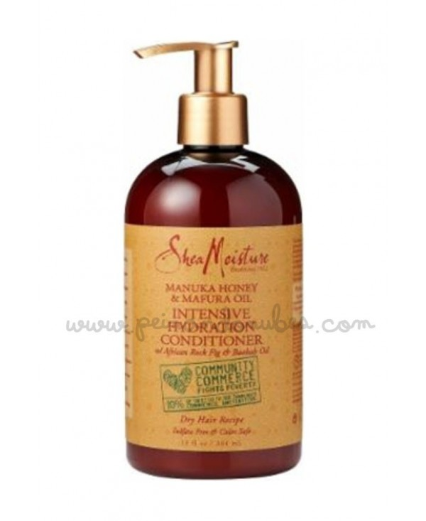 Shea Moisture - Manuka Honey & Mafura Oil Intensive Hydration Conditioner - 384 ml.