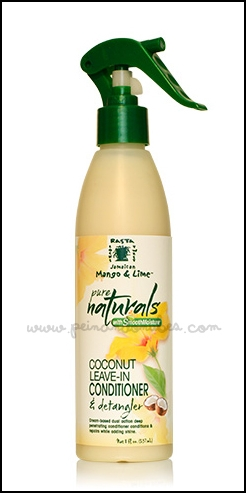 Jamaican Mango and Lime pure naturals - coconut leave-in conditioner and detangler - Peinando Nubes