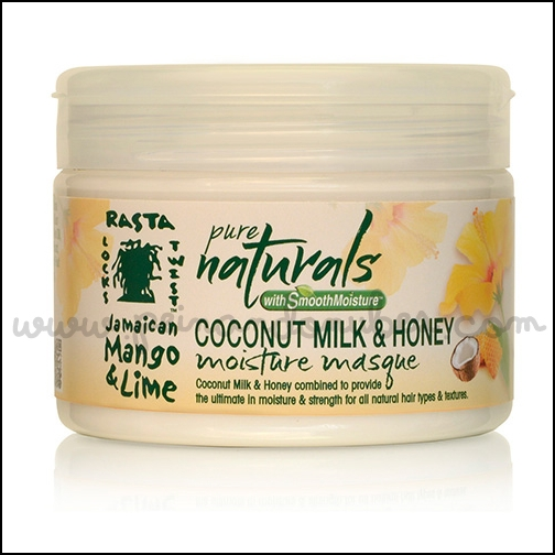 Jamaican Mango and Lime pure naturals - coconut milk and honey moisture masque - Peinando Nubes