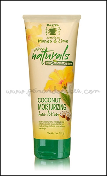 Jamaican Mango and Lime pure naturals - coconut moisturizing hair lotion - Peinando Nubes